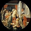 Fra Filippo Lippi - Madonna with the Child and Scenes from the Life of St Anne - WGA13236.jpg