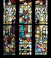 France Saverne église de la nativité Pelerins d'Emmaüs stained glass.jpg