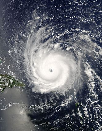 Hurricane Frances - Image: Frances 2004 near Hispaniola