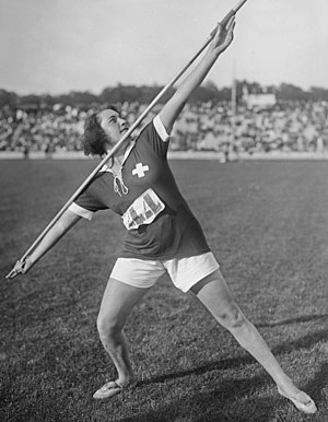 Francesca Pianzola - Pianzola at the 1922 Women's World Games