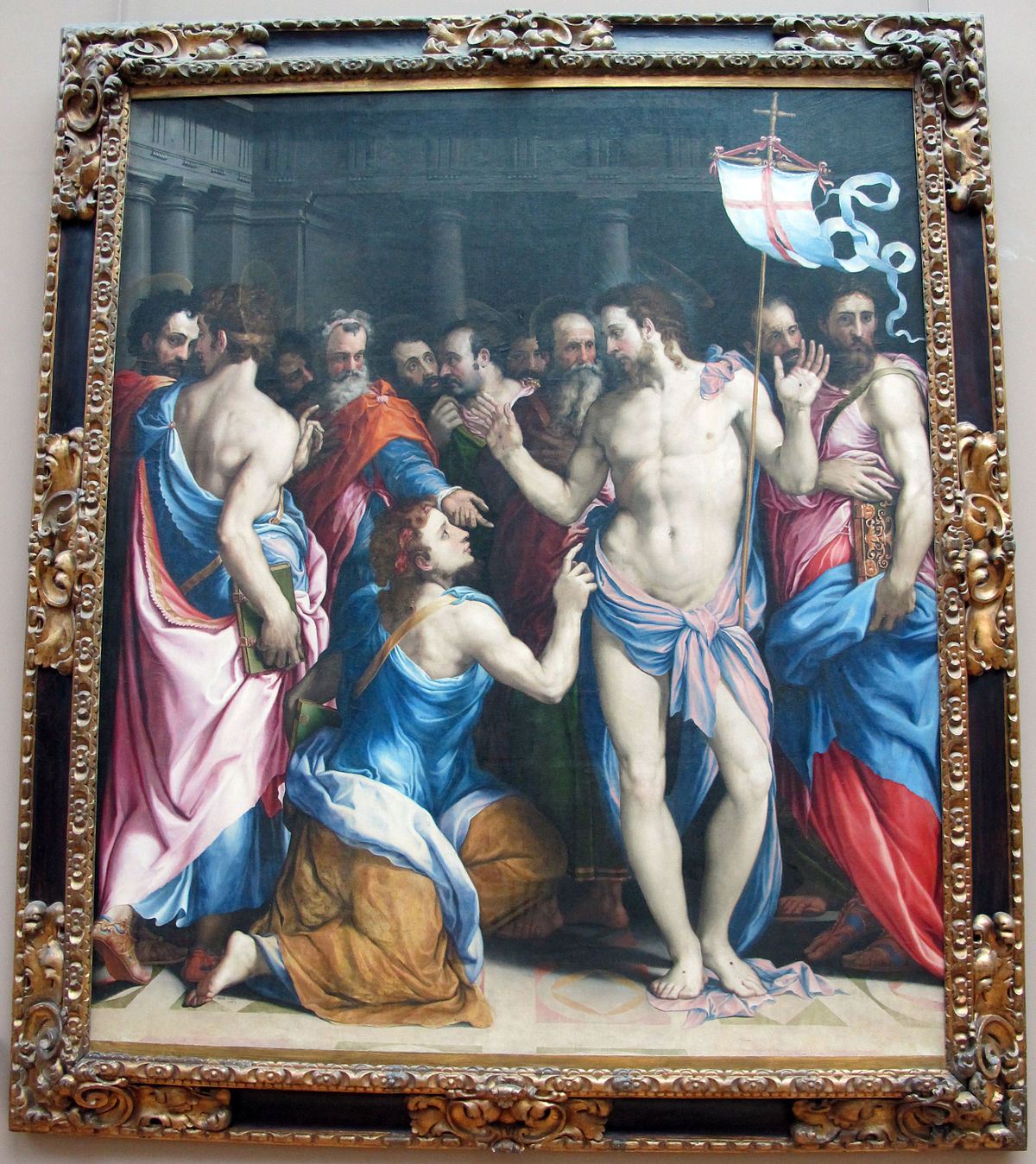 the incredulity of saint thomas It was commissioned by sir nicolaas ii rockox and his spouse adriana perez, for the lady chapel of the recollects church in antwerp and he and his wife are shown on its outer panels its central panel shows the disbelief of thomas.