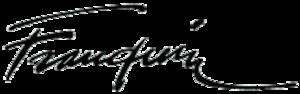 André Franquin - Image: Franquin signature