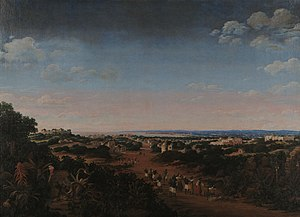 Matias de Albuquerque, Count of Alegrete - Seventeenth-century view of Olinda