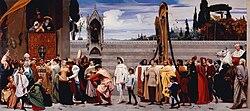 Frederic Leighton, 1st Baron Leighton: Cimabue's Celebrated Madonna