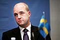 Fredrik Reinfeldt, statsminister Sverige, under sessioen i Kopenhamn 2006.jpg