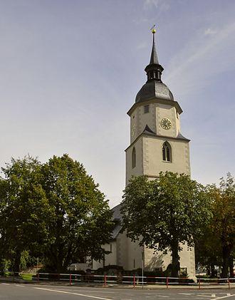Friedrichroda - Image: Friedrichroda Blasiuskirche 1