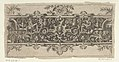 Frieze with Grotesques and a Mask Wearing a Whimple and Crown at Center MET DP837239.jpg
