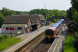 Frimley railway station - Frimley Railway Station