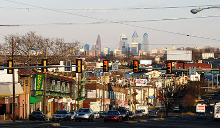 A view of Rundgren's hometown, Upper Darby, Pennsylvania, in 2007 From-upper-darby-1.jpg