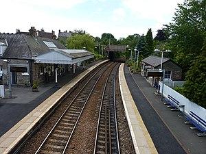 Aberdour railway station - Aberdour station