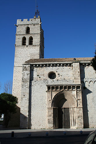 Canton of Frontignan - Church of Frontignan
