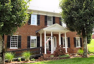 National Register of Historic Places listings in Hawkins County, Tennessee - Image: Fudge Farm Surgoinsville tn 1