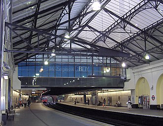 Fulham Broadway tube station - Image: Fulham Broadway 2