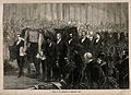 Funeral of David Livingstone at Westminster Abbey; his coffi Wellcome V0018863.jpg