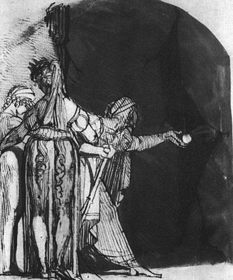 Graeae - Perseus Returning the Eye of the Graiai by Henry Fuseli