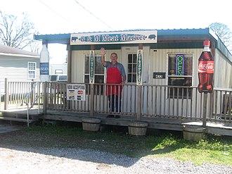 Jeanerette, Louisiana - Meat market in Jeanerette sells such regional treats as boudin and cracklins.