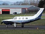 G-PTEA Piper Malibu Mirage 46 (26355394505).jpg