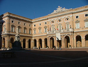 Recanati - Town Hall of Recanati