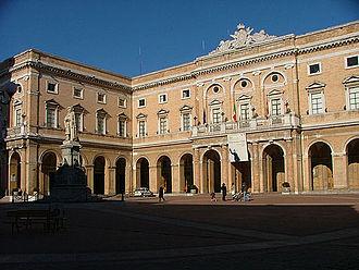 Recanati - Town Hall of Recanati