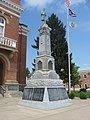 GAR monument in front of the Fulton County Courthouse.jpg