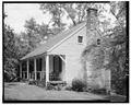 GENERAL VIEW, FRONT AND SIDE - Christopher Johnson Cottage, State Route 126, Lynchburg, Lynchburg, VA HABS VA,16-LYNBU.V,1-3.tif
