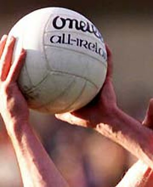 Football (ball) - Balls made by Irish company O'Neill's are used for all official Gaelic football matches.