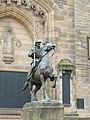 Galashiels Reiver Statue 02.JPG