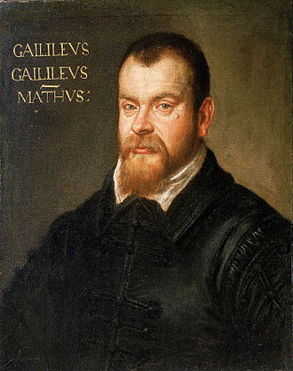 Domenico Tintoretto - Portrait of Galileo Galilei, National Maritime Museum, 1605-1607