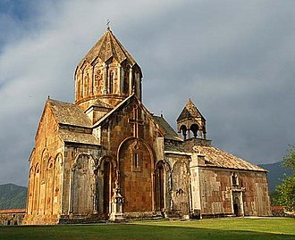 Nagorno-Karabakh - The monastery at Gandzasar was commissioned by the House of Khachen and completed in 1238