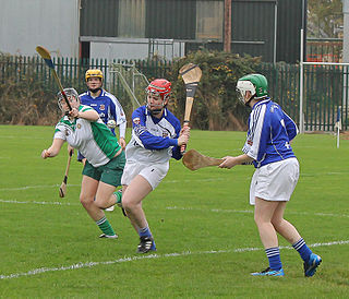 Camogie Irish stick-and-ball team sport played by women