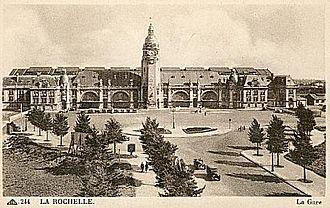 Chemins de fer de l'État - La Rochelle railway station
