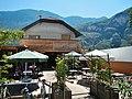 Gasthof Salurn am Radweg im Etschtal Valle dell'Adige, Val d'Adige - panoramio.jpg