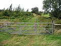 Gated track to the W of the Elham Valley Way - geograph.org.uk - 958330.jpg