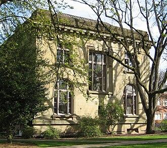 Gatke Hall - West side