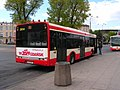 Gdańsk-bus with banner of 30. anniversary of Round Table.jpg