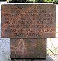 Gedenkstein Dörpfeldstr 35 (Adlh) Widerstandskämpfer.JPG