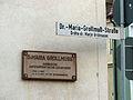 Gedenktafel Dr.-Maria-Grollmuß-Straße 2 Bautzen.JPG