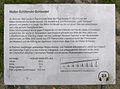 Gedenktafel Ostseestr (Peenemünde) Walter-Schlitzrohr-Schleuder2.JPG