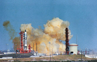 Gemini 6A - The launch abort of Gemini 6A, attempted December 12, 1965.