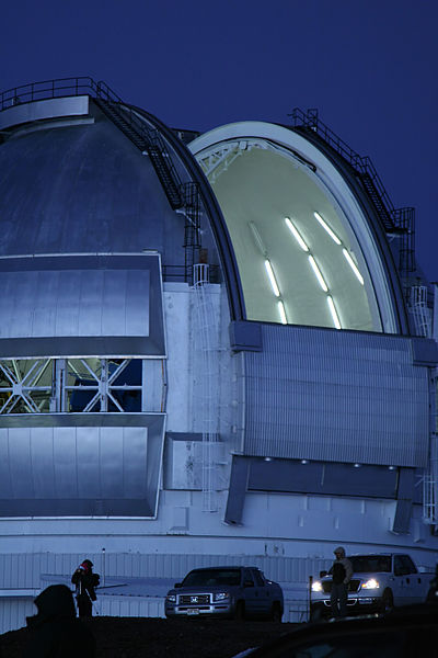 File:Gemini North Observatory open for viewing.jpg