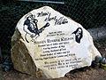 Gene Kelton's headstone in Pine Valley Cemetery, Pine Valley, Texas.jpg
