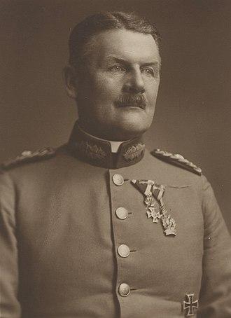 Chief of the General Staff (Bundesheer) - Image: General Ludwig v. Eimannsberger