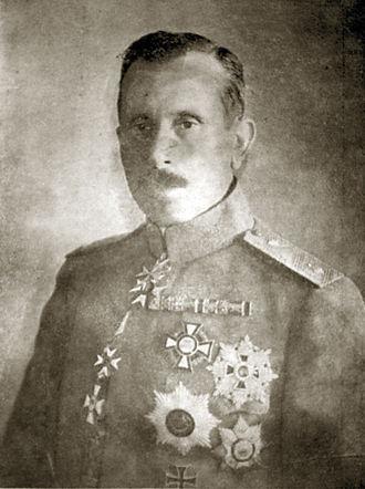 Nikola Zhekov - Lt. Gen. Zhekov as commander-in-chief