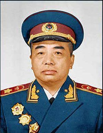 Peng Dehuai - Peng Dehuai in his Marshal uniform
