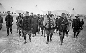 Rif War - General Silvestre in Melilla, 1921.