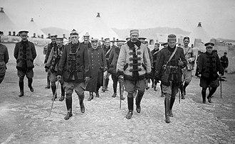 Rif War - General Silvestre in Melilla, 1921.