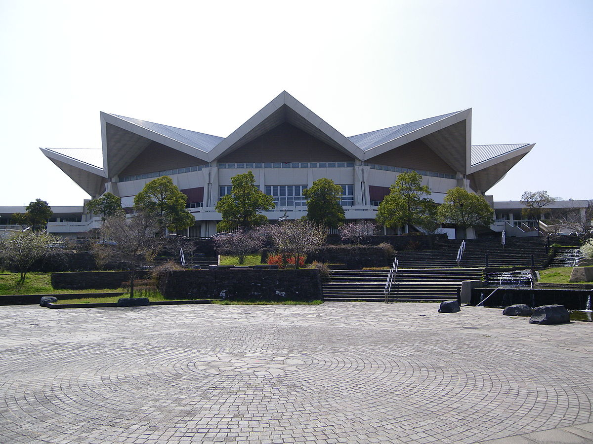 北九州市立総合体育館の画像