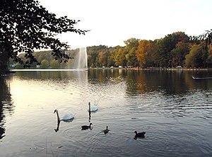Lake Genval - Image: Genval Lac 1a