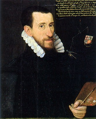 1579 in art - George Gower, Self-portrait (1579)