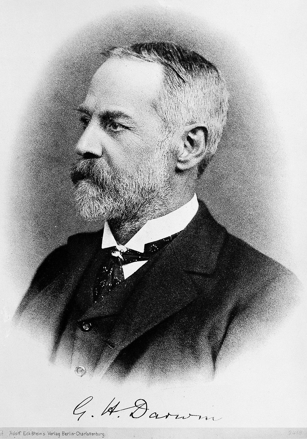 George Darwin – Wikipédia